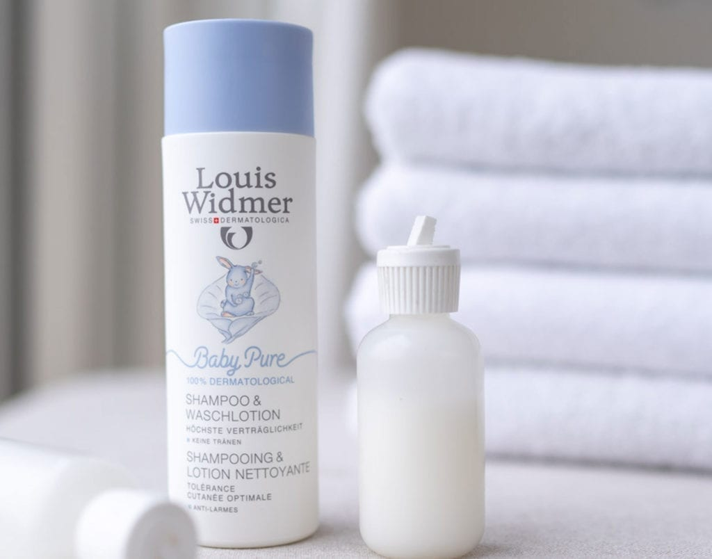Louis Widmer Baby Pure Shampooflasche
