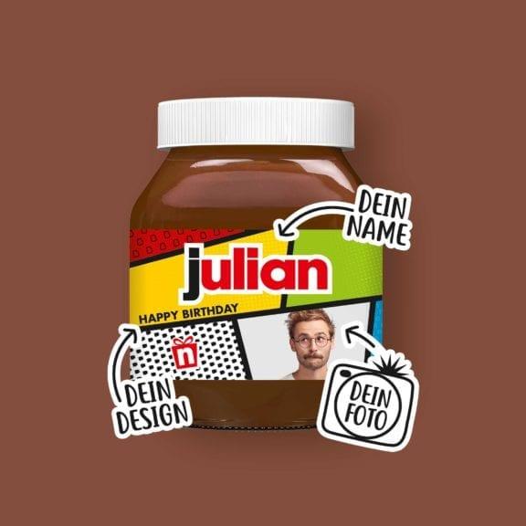 Dein Nutella Glas Julian
