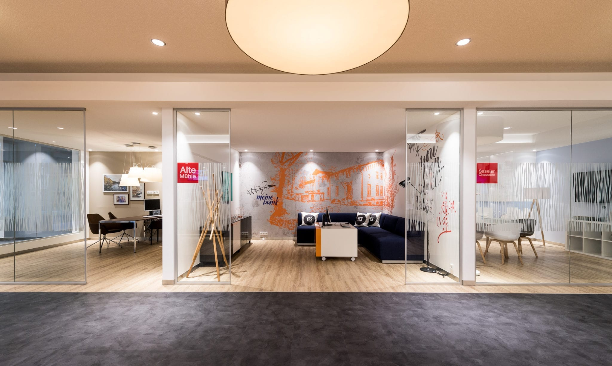 Haspa Branch of the Future Meeting Rooms