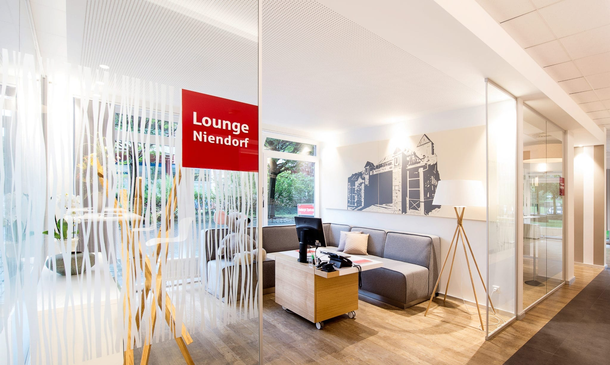 Haspa Branch of the Future Lounge Niendorf