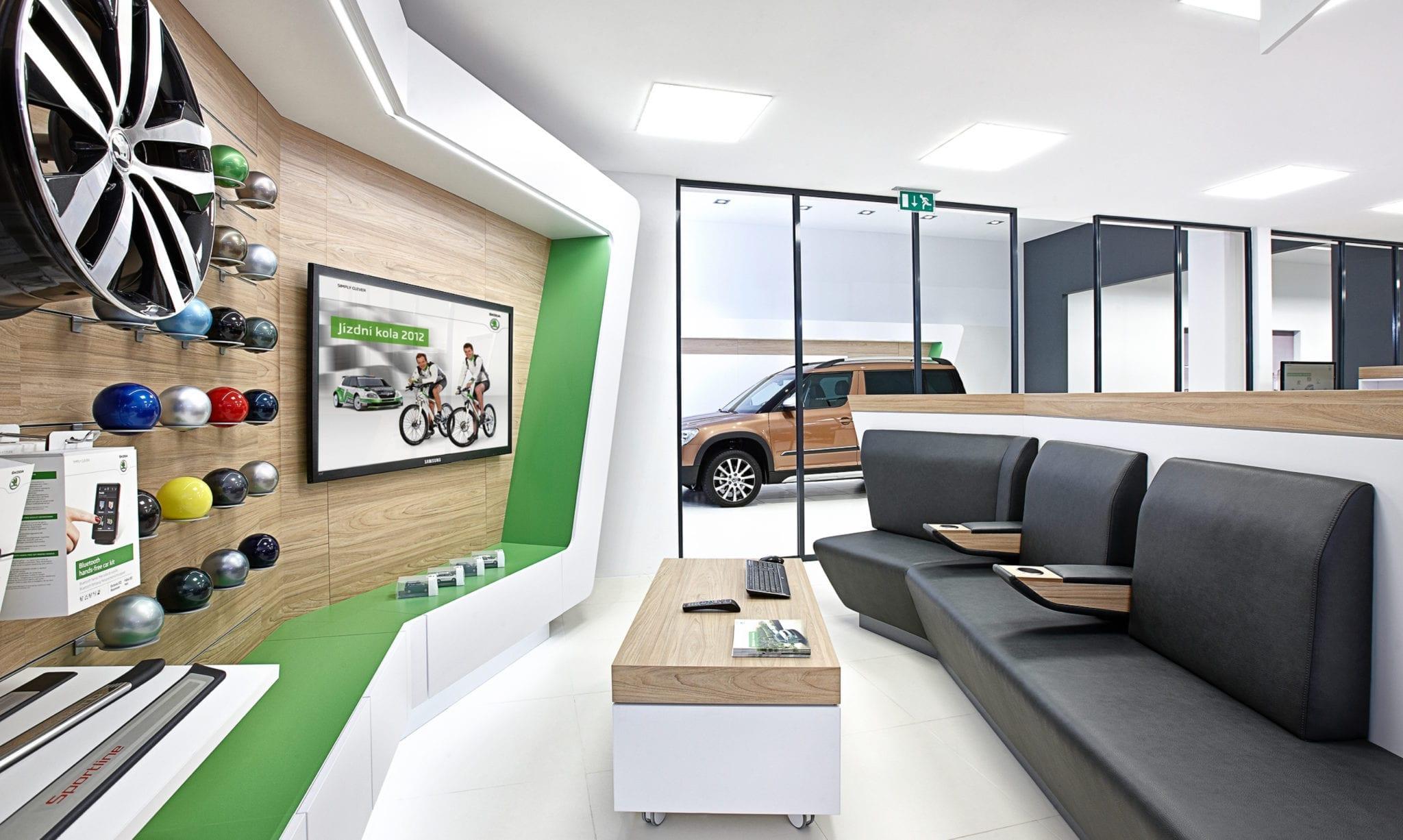Skoda Autohaus Lounge