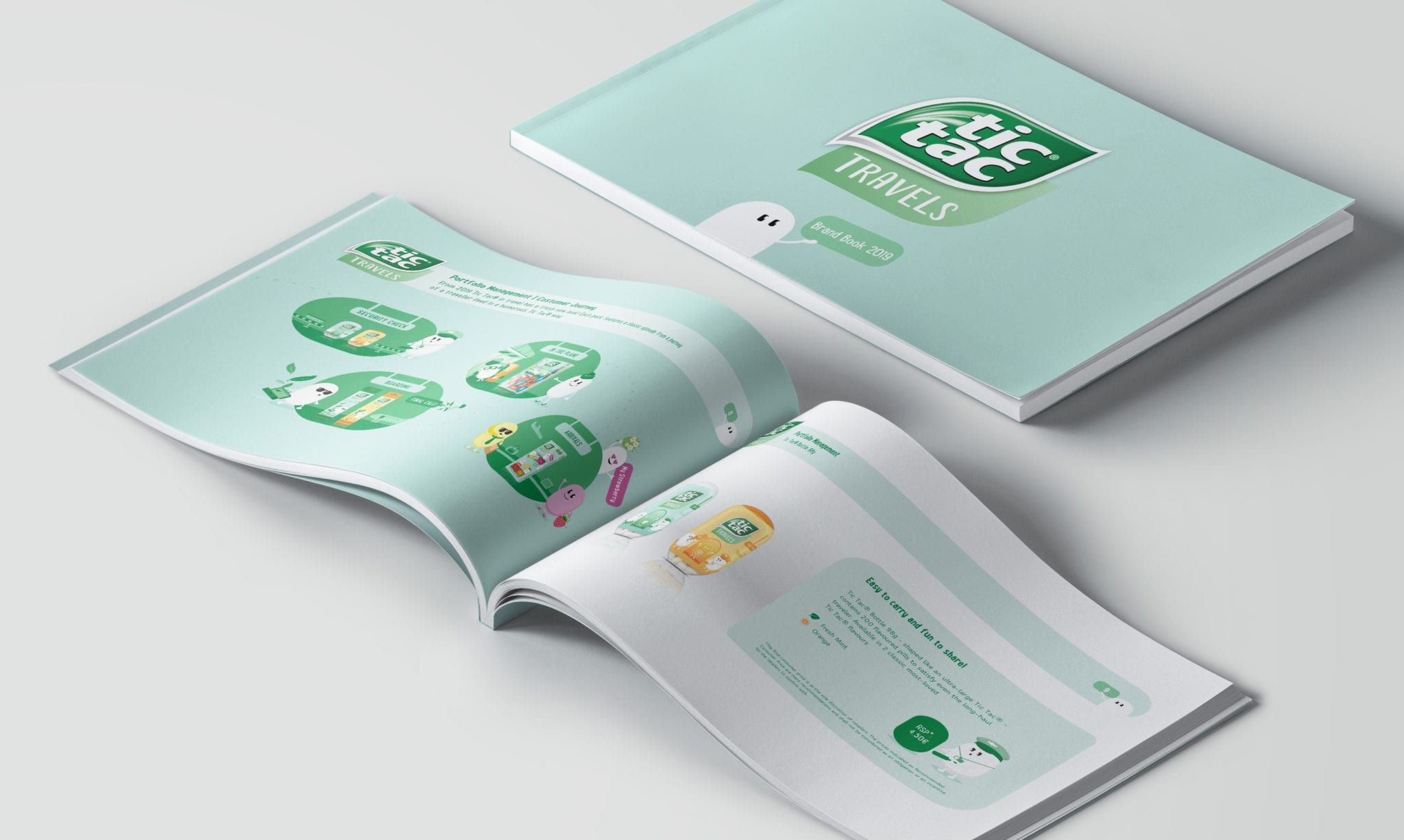 TicTac Travels Brand Book