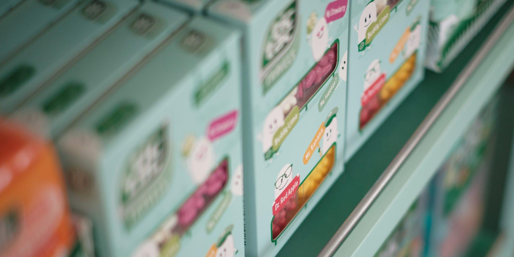 TicTac Multiflavor Boxes