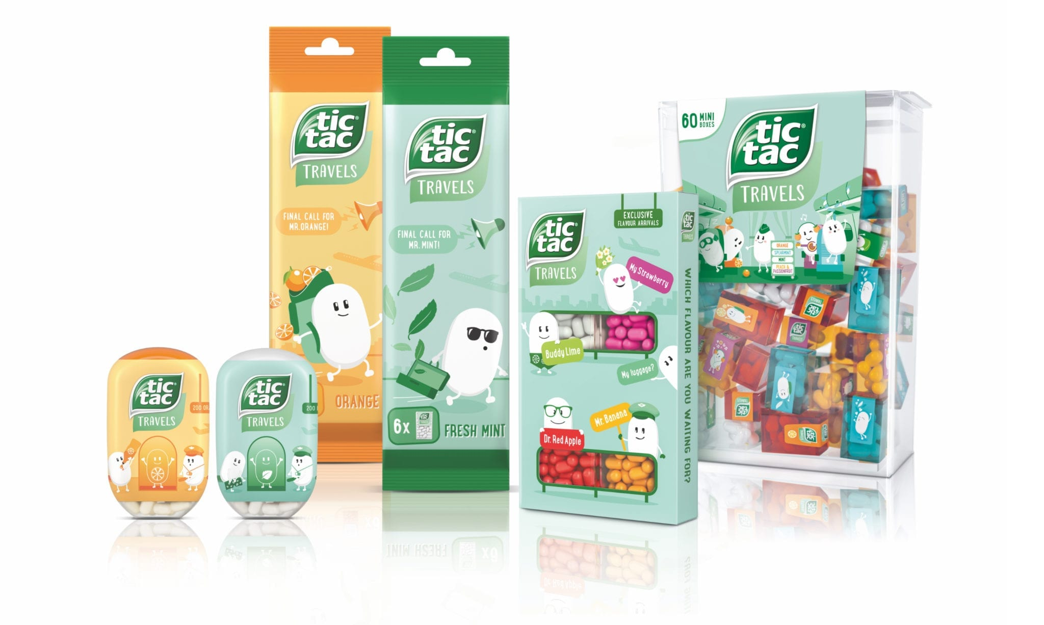 TicTac Travels Produkte