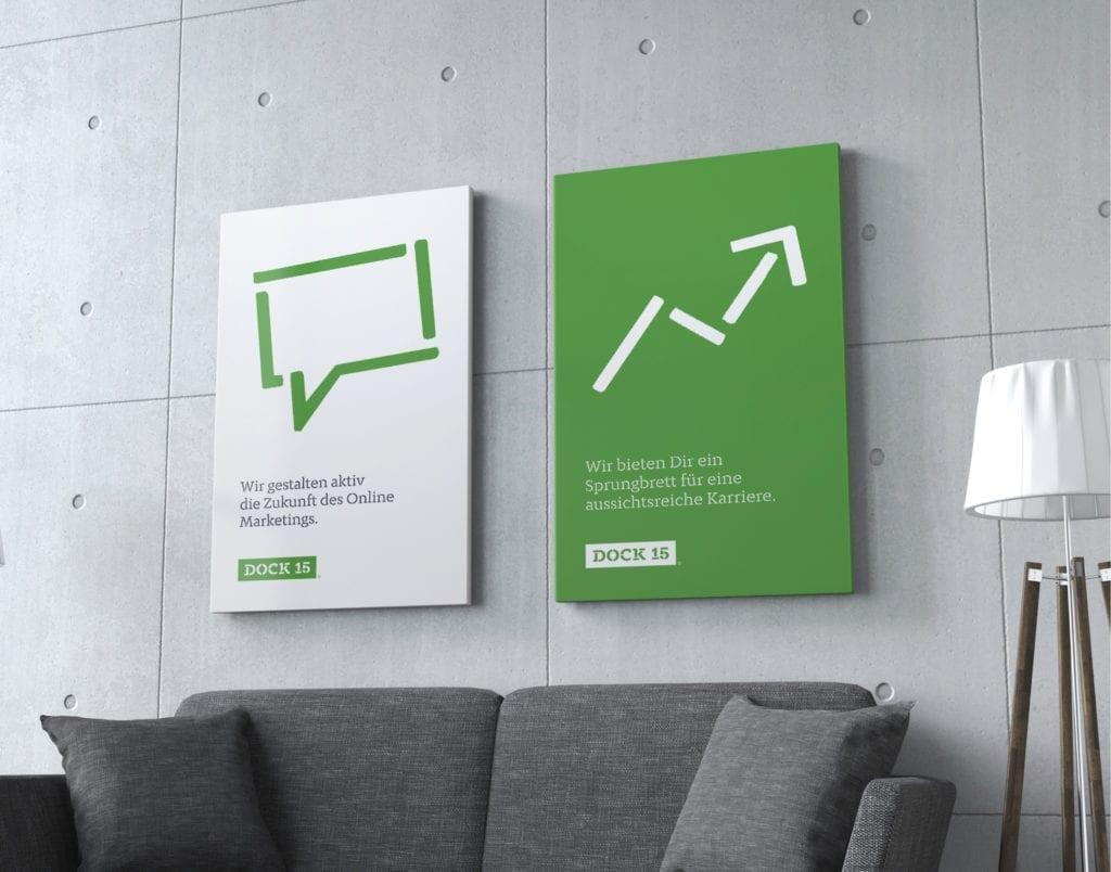 Dock 15 Employer Branding Poster