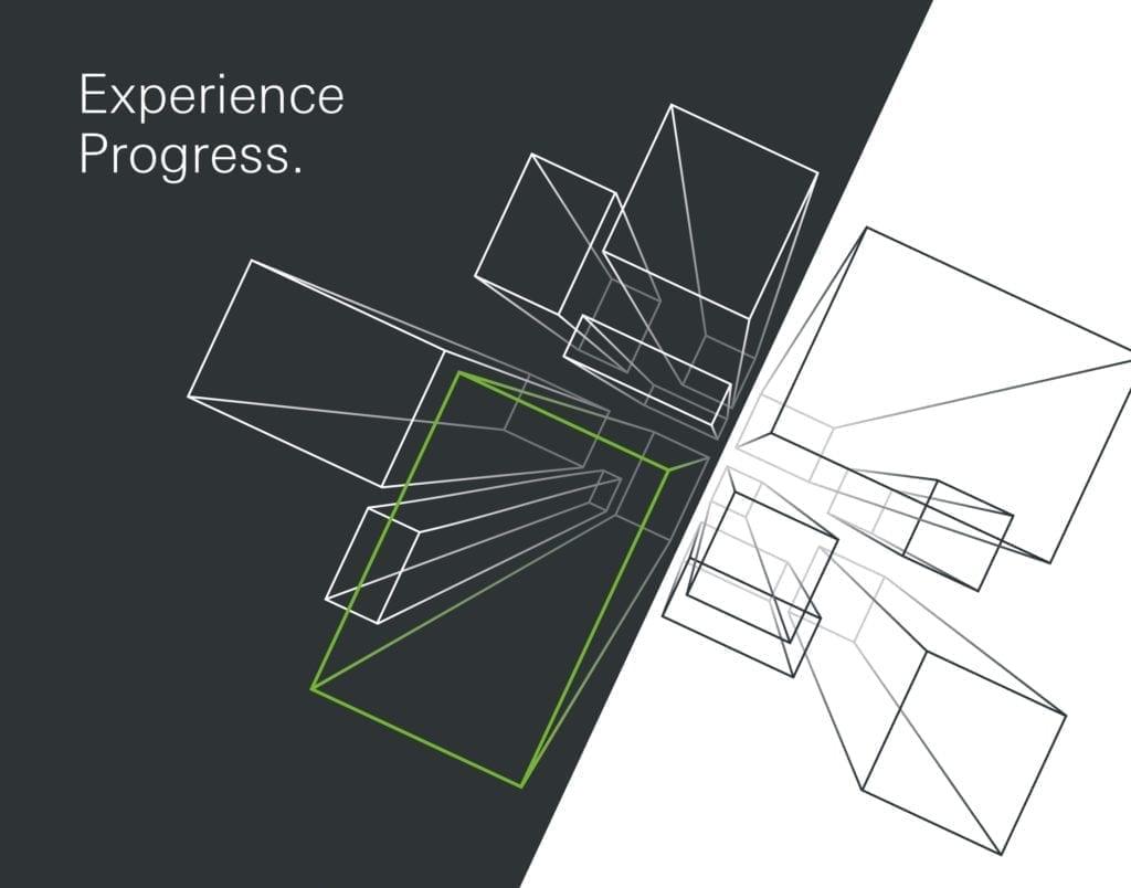 Schüco Messekommunikation Keyvisual Experience Progress