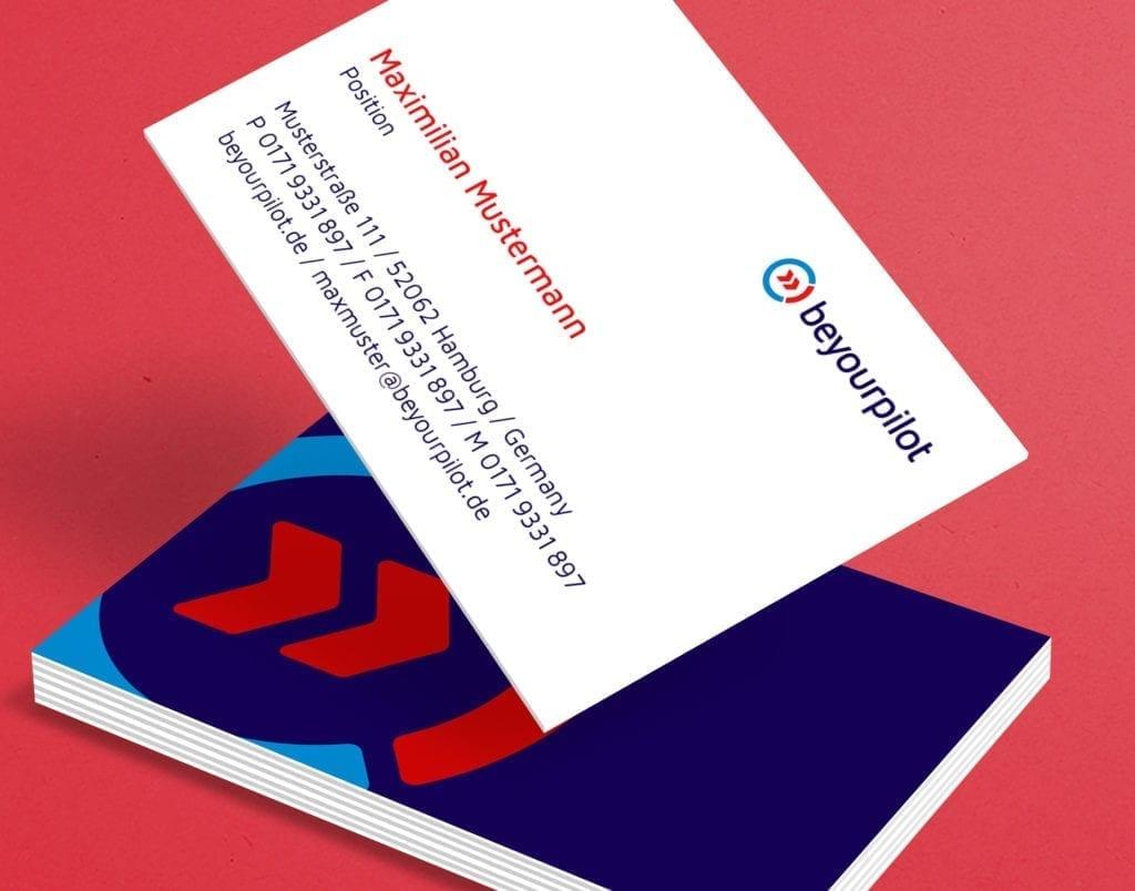 beyourpilot business cards