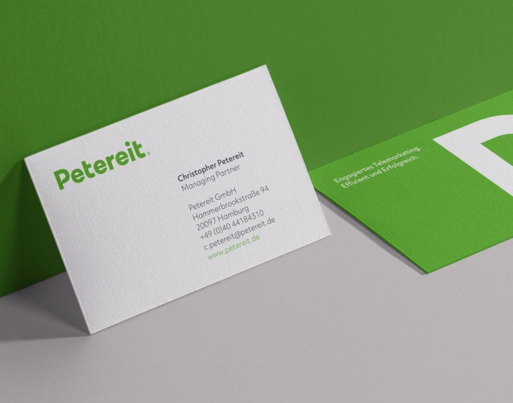 Petereit Business Cards