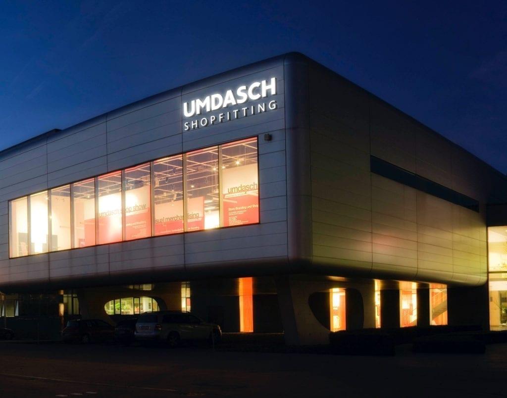 Umdasch Shop exterior view