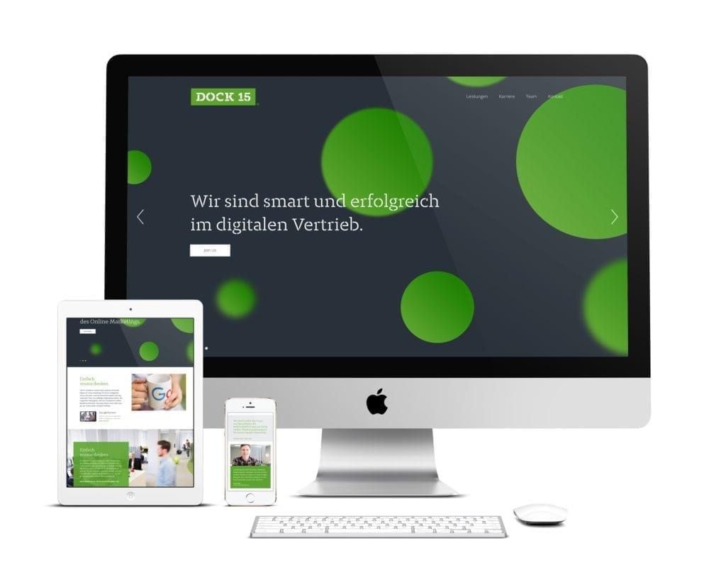 Dock 15 Web und Mobile Interface Design