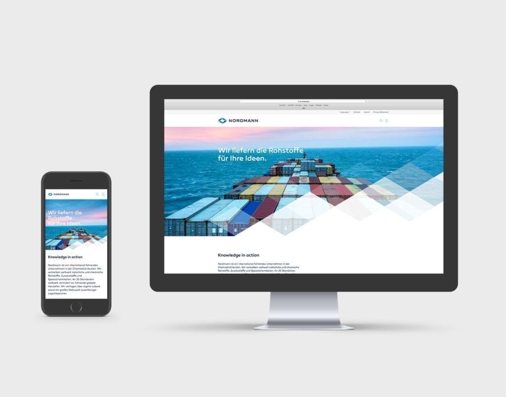 Nordmann Web und Mobile Interface Design