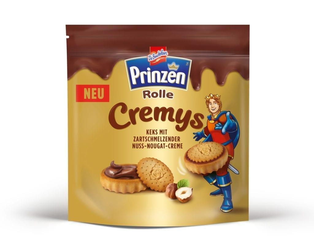 Prinzenrolle Cremys Verpackungsdesign