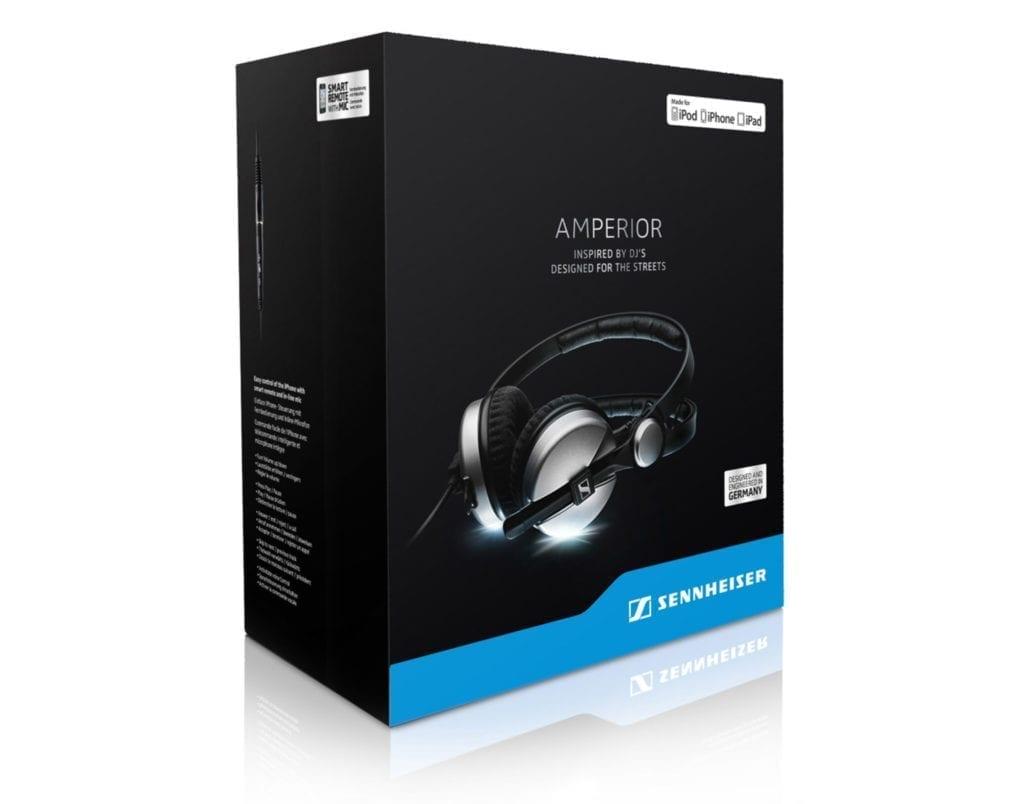 Sennheiser Amperior Kopfhörer Verpackungsdesign