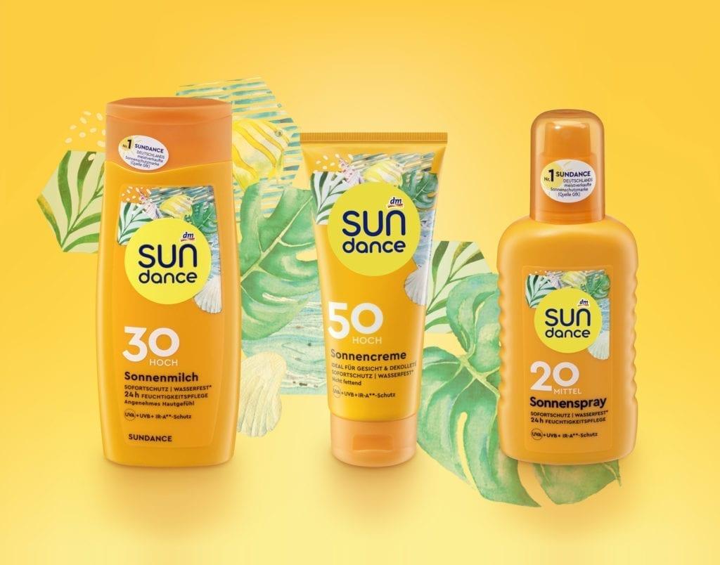 Sundance Sonnenmilch, Sonnencreme und Sonnenspray