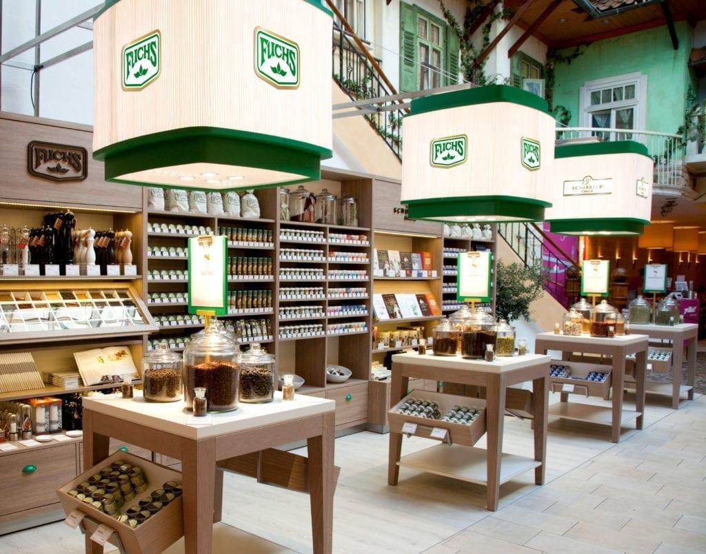 Fuchs Shop Regale und Präsentationsmodule