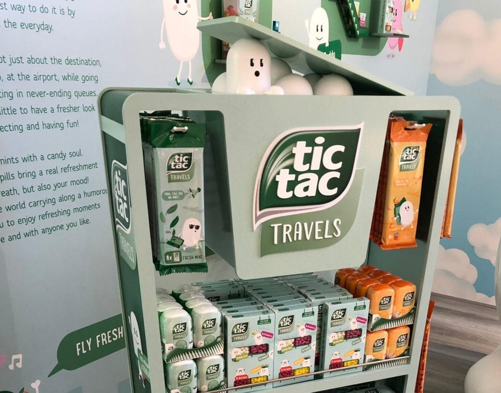 TicTac Travels Präsentationsmodul