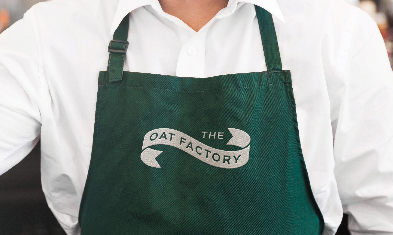 The Oat Factory apron