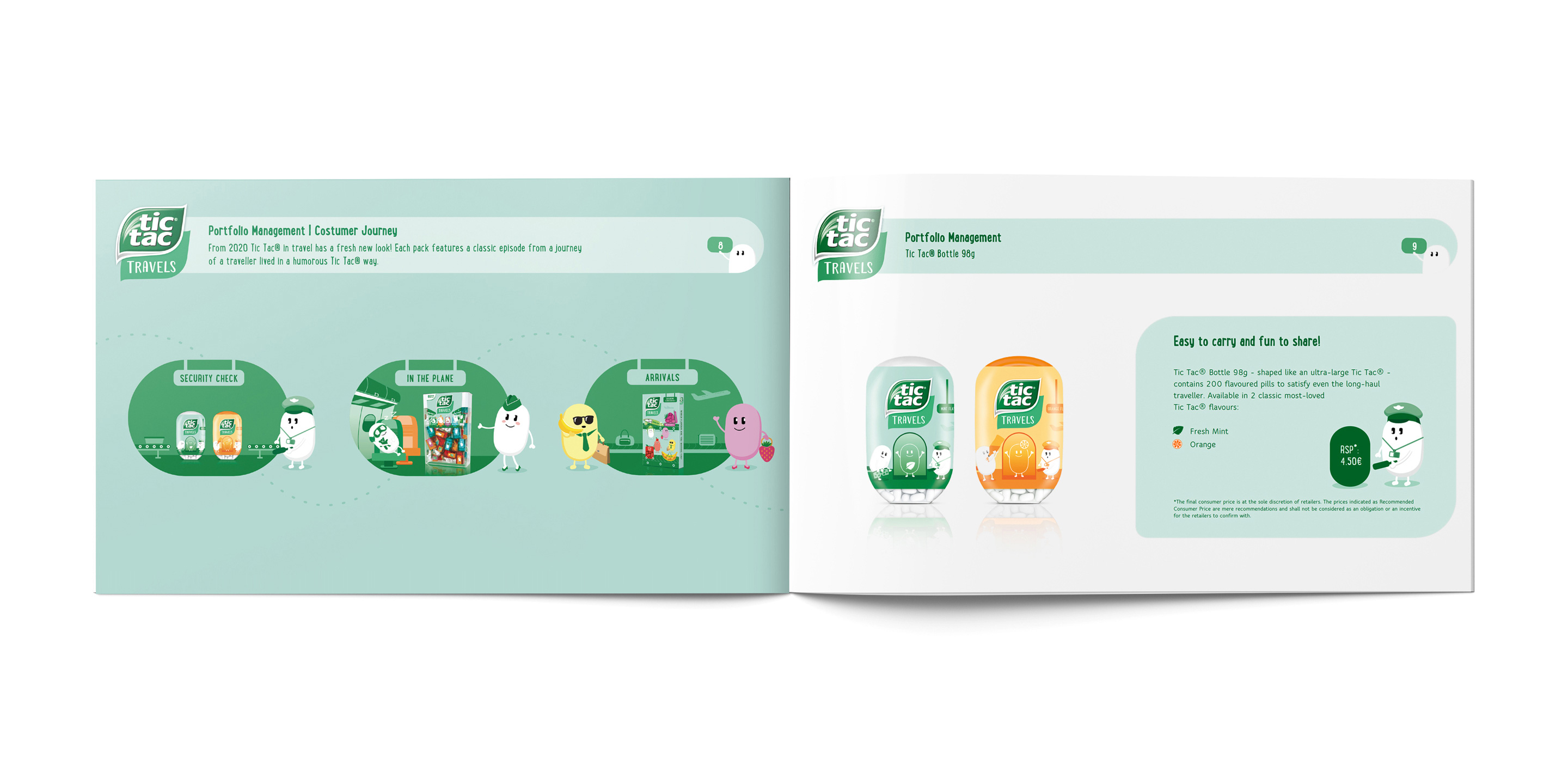 Tictac Travels Brand and Design Guideline