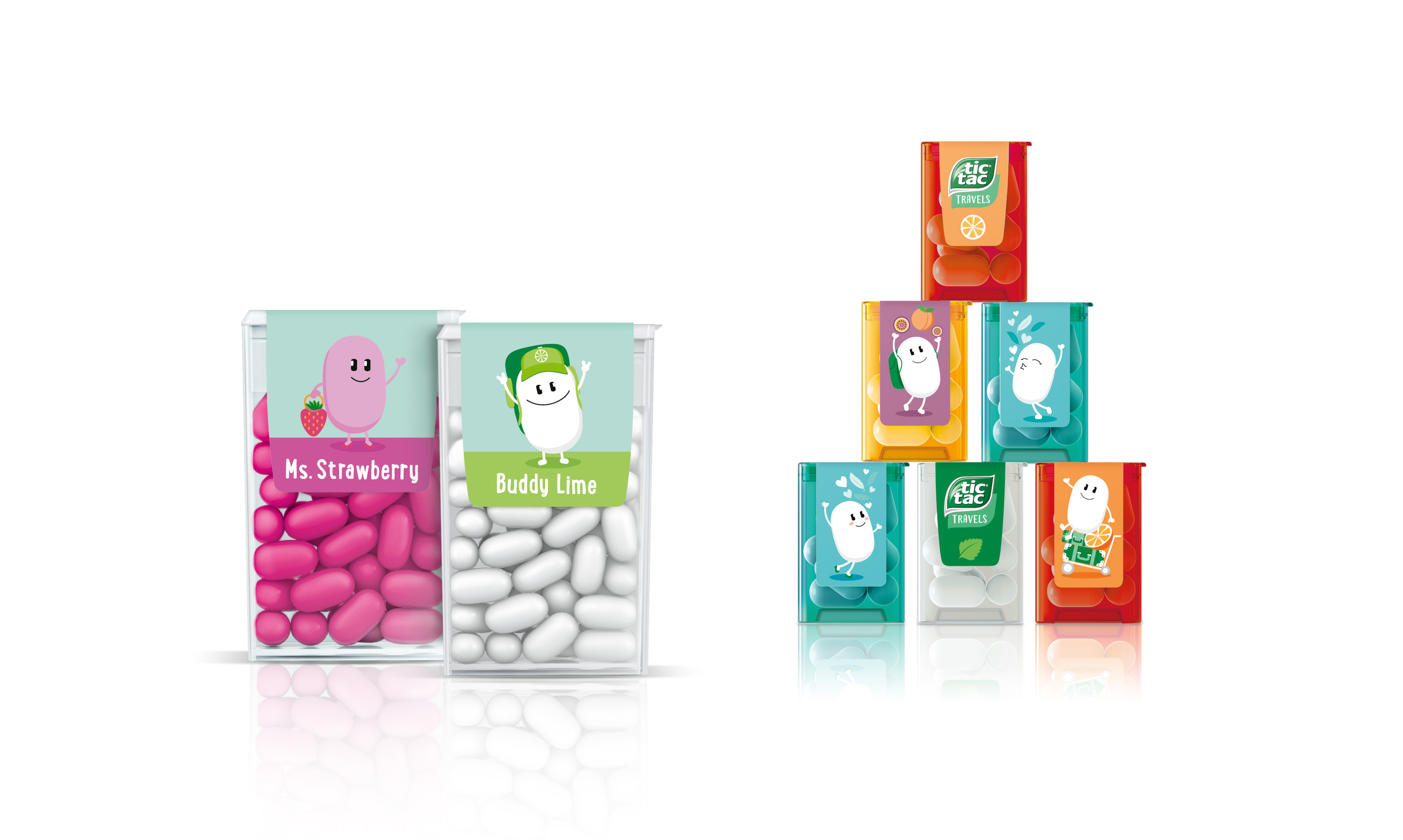Tictac Travels Packaging Design