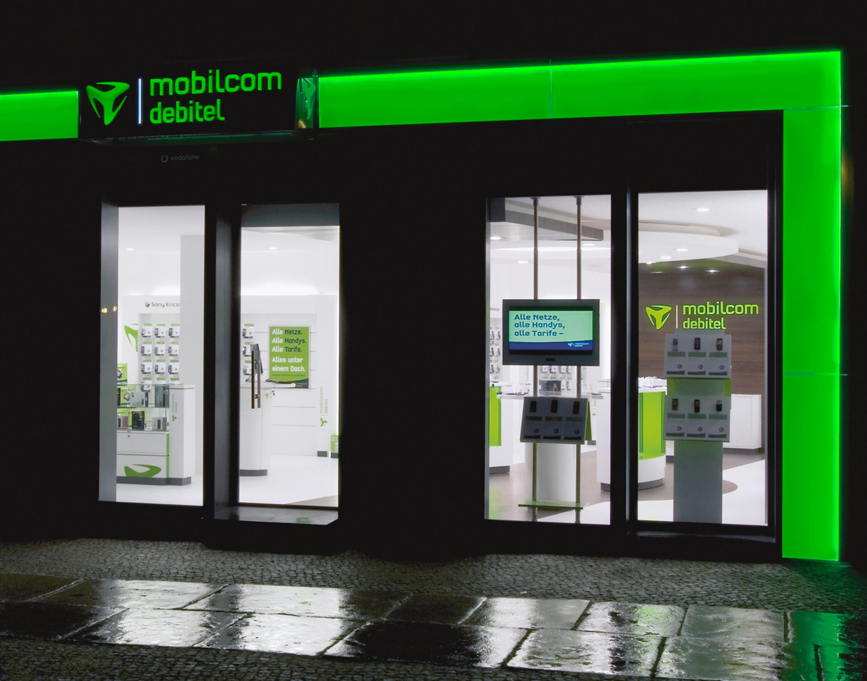 mobilcom debitel store exterior view