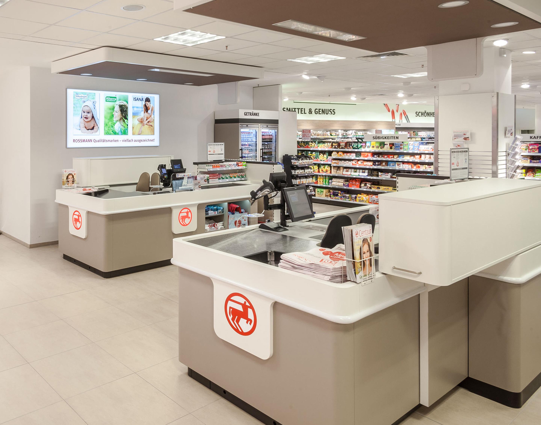 Rossman checkout area