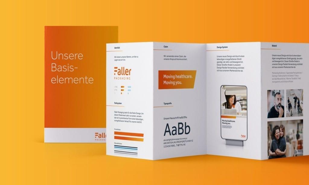 Faller Packaging Brandbook