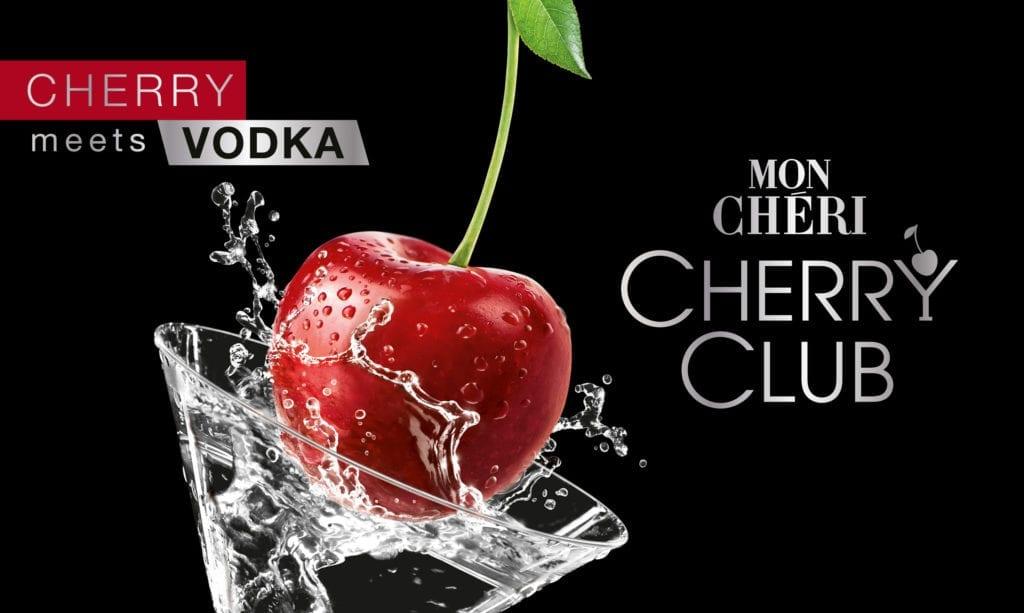 Mon Cheri Cherry Club Keyvisual Kirsche im Glas