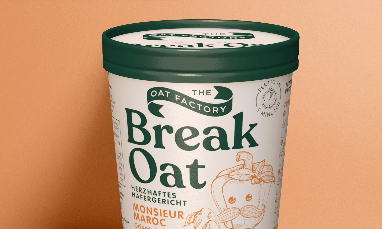Break Oat Packaging Design