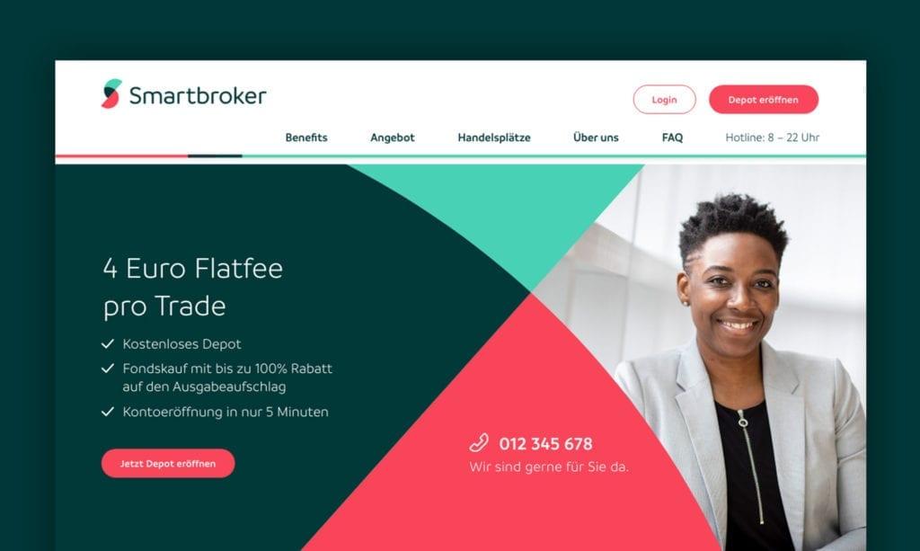 Smartbroker Web Design